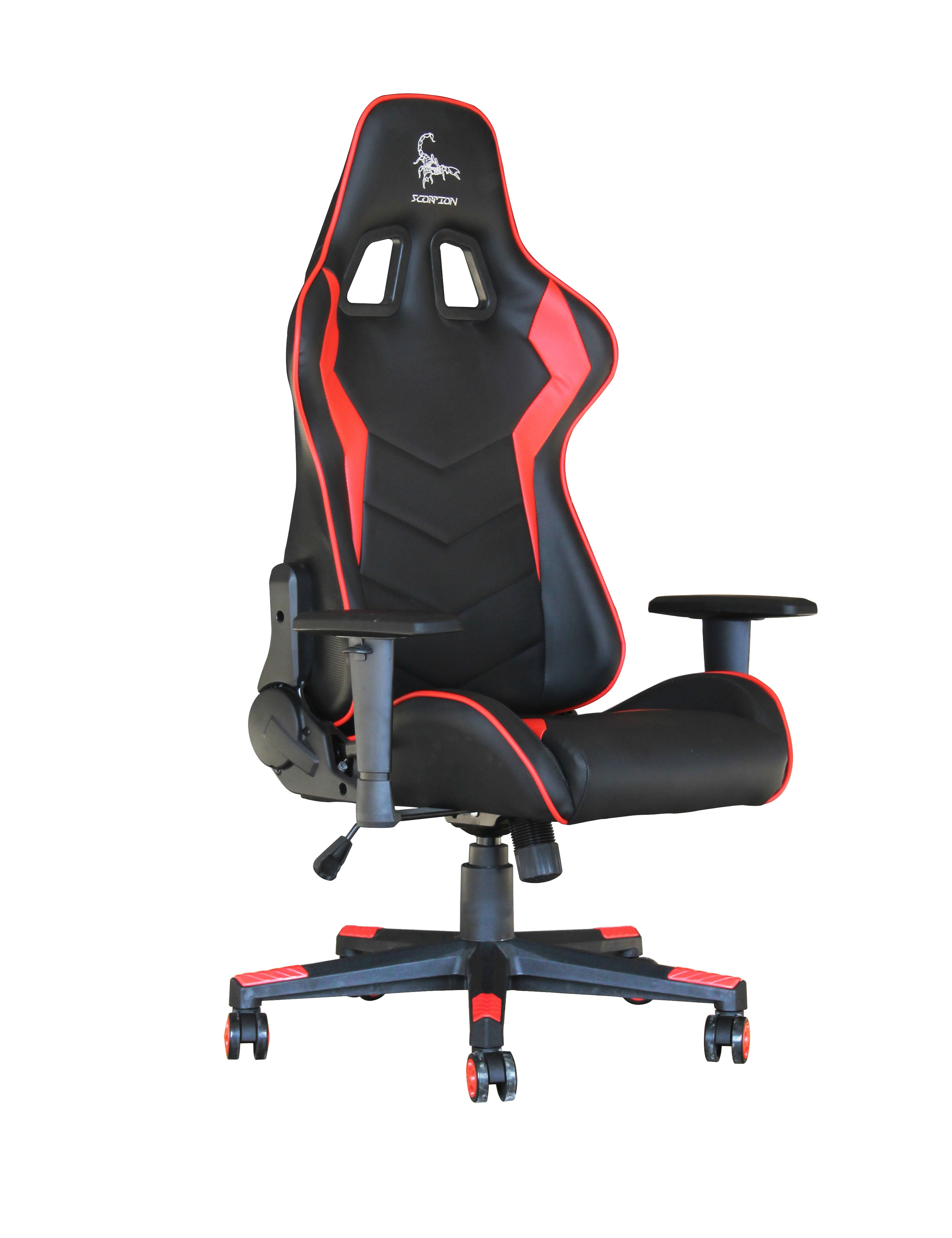 Groovy Gaming Chair Scorpion Black Red Skin Gc Scorpion 03 Squirreltailoven Fun Painted Chair Ideas Images Squirreltailovenorg
