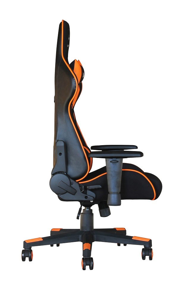 Magnificent Gaming Chair Scorpion Black Mesh Orange Skin Gc Squirreltailoven Fun Painted Chair Ideas Images Squirreltailovenorg