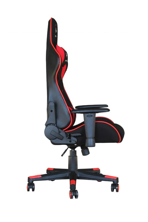 Gaming Chair Scorpion Black Red Mesh Gc Scorpion 01