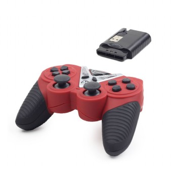 Wireless vibration gamepad, PS2/ PS3 / PC (JPD-ST04W)